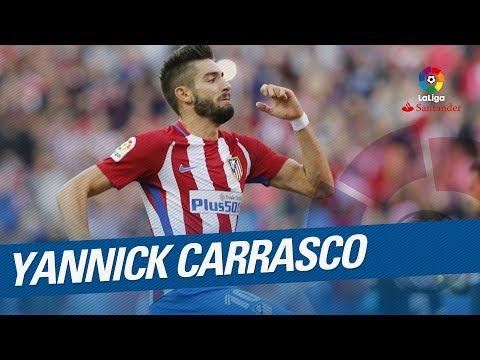Yannick Carrasco Best Moments LaLiga Santander 2016/2017