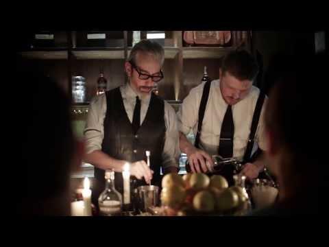 Auchentoshan och The Dutch Kills Pop-Up Bar och workshop tillsammans med BCA.