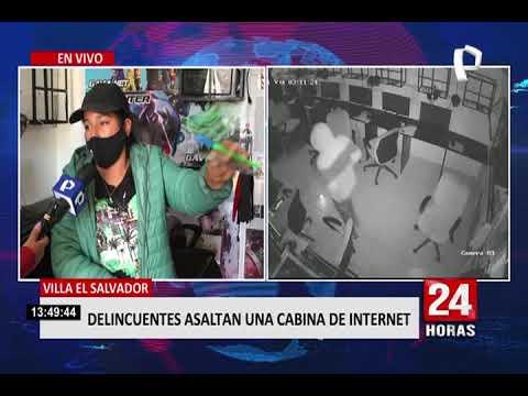 robo en cabina de internet