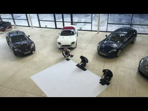 Atrium Art - Creating a leather Vanquish | Aston Martin