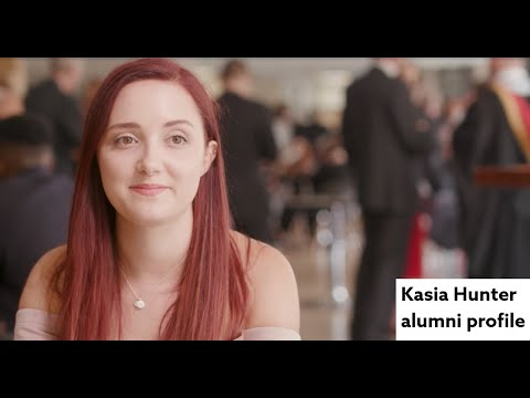 How does Human Resource Management shape your career? Kasia Hunter alumni profile