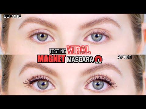 Testing VIRAL MAGNET Mascara!