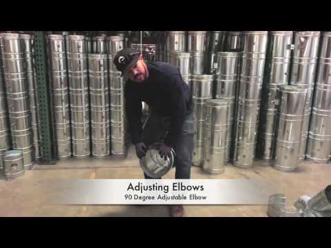 How-To Adjust a 90 Degree Adjustable Duct Elbow - The Duct Shop