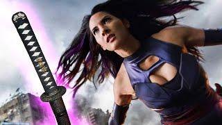 X-Men's Olivia Munn Shows Off Psylocke's Sword Skills!