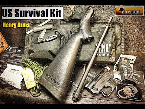 New Henry Rifle US Survival Kit