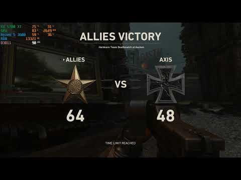 Eskisi gibi Zirveye Oynamak   Call of Duty: WWII PC   4K Oynanış
