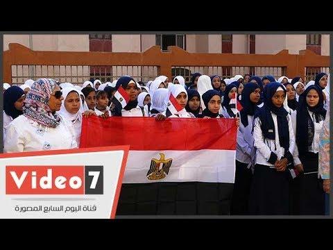 وزير التعليم لطلاب مدرسة تحيا مصر: اهتموا بمعلميكم فهم عمود المنظومة