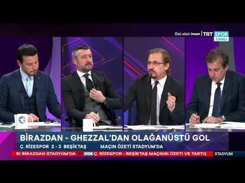 STADYUM | Ç.Rizespor- Beşiktaş: 2-3, Galatasaray-Konyaspor:1-0 | Maç sonu yorumları