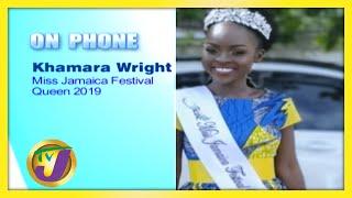 Miss Jamaica Festival Queen 2019 Khamara Wright - July 31 2020
