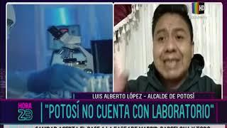 Autoridades de Potosí reclaman falta de atención en crisis por el COVID-19