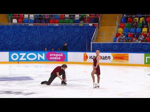 Екатерина Миронова - Евгений Устенко. Ритм-танец. Танцы на льду. Финал Кубка России по фигурному кат