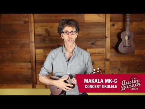 Kala MK-C Makala Concert Ukulele Demo