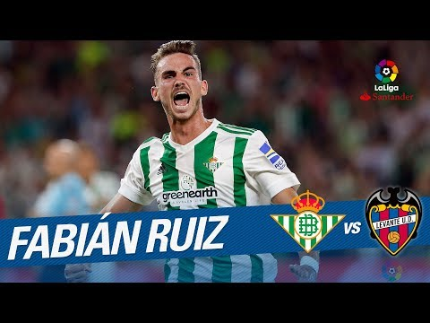 Golazo de Fabían (2-0) Real Betis vs Levante UD