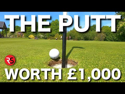 First to hole this putt WINS £1,000 ($1,275)