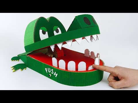 Making Crocodile Dentist Toy for All Family