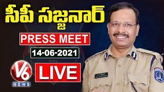 Cyberabad CP Sajjanar Press Meet LIVE | Police Apprehended Cheaters Gang | V6 News - V6NEWSTELUGU