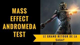 Vidéo-Test : MASS EFFECT ANDROMEDA | Test & Analyse FR Version PS4 Pro | Le Grand Retour De La Saga ?