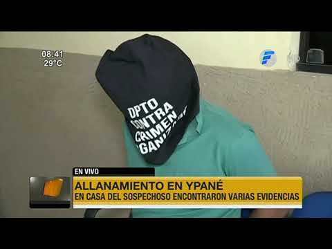 Detienen a presunto robacoches en Ypané