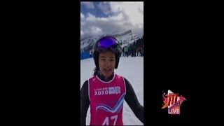 SPORT: Vieira Finishes In 42nd Place At Women's Super G