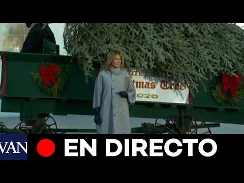 DIRECTO: Melania Trump da la bienvenida al árbol de Navidad de la Casa Blanca