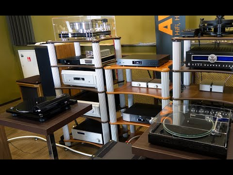4 винила с записью звука: Denon, Thorens, Transrotor, SME #Soundex_review