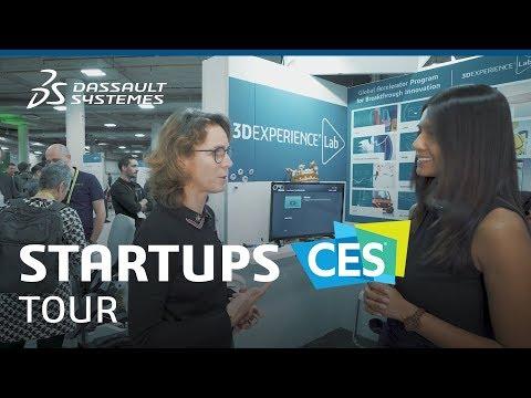 CES 2019 - Meet the 3DEXPERIENCE Lab's startups - Dassault Systèmes