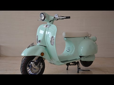 electric vespa scooter 3000w 2000w 20ah 40ah 65 to 80km range with EEC COC street legal in Europe