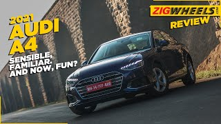 the ಆಡಿ ಎ5 IS all the ಲಕ್ಸುರಿ ಸೆಡಾನ್ you need | ವಿಮರ್ಶೆ in 5 minutes | zigwheels