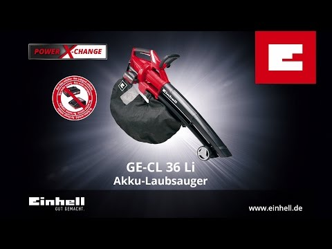 Einhell GE-CL 36 Li Akku-Laubsauger