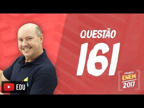 Enem 2016: Questão161(CadernoRosa)