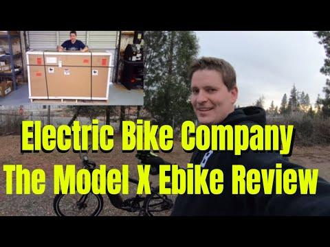 Electric Bike Company - Model X Ebike Review
