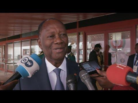 Interview du Chef de l'Etat à sa sortie du 54e Sommet ordinaire de la CEDEAO