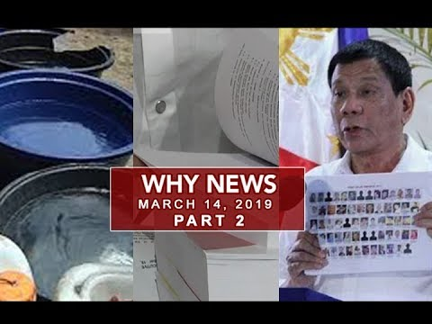 UNTV: Why News (March 14, 2019) PART 2