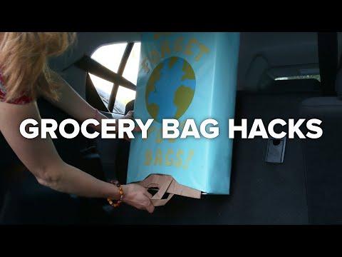 4 Easy Grocery Bag Hacks