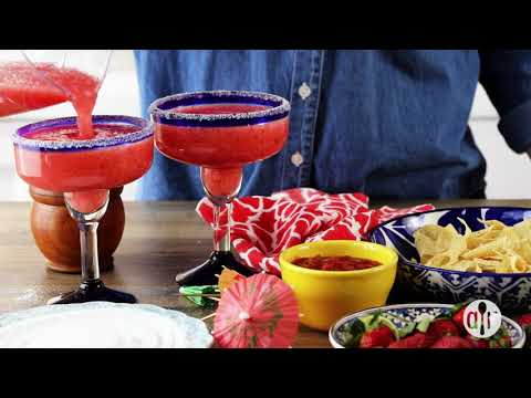 How to Make Ultimate Frozen Strawberry Margarita | Drink Recipes | Allrecipes.com