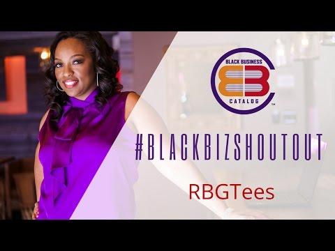 Black Business Holiday Catalog #BlackBizShoutout - RBGTees