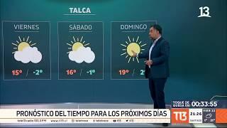Meteorología: ¿Volverán las lluvias a la zona central del país