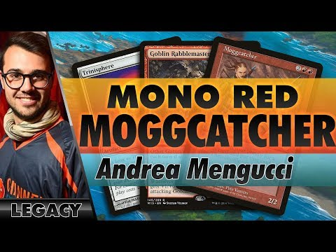 Mono-Red Moggcatcher - Legacy   Channel Mengucci