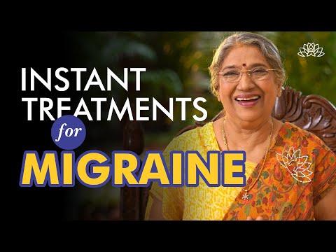 How to get Instant relief from migraine?   Dr. Hansaji Yogendra