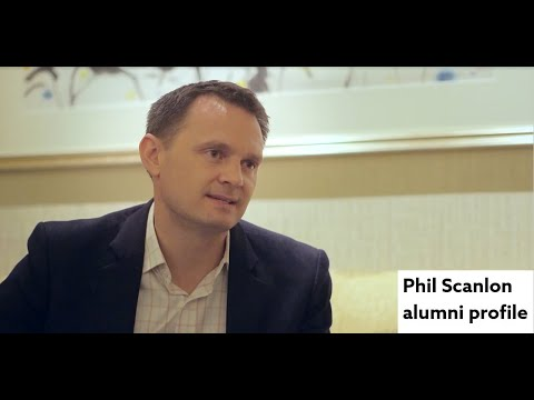 How gaining work experience makes you different to others. Phil Scanlon alumni profile