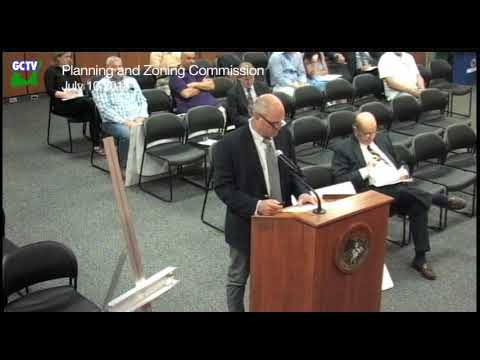 Planning & Zoning Commission, July 10, 2018