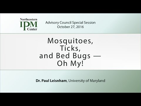 Mosquitoes, Ticks, and Bed Bugs — Oh My!