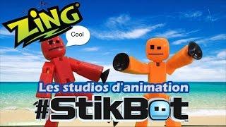 #StikBot - D�mo des studios d'animation en fran�ais