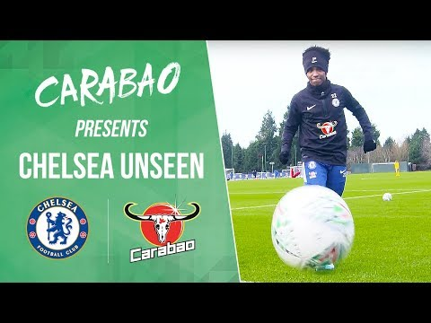 Willian Smashes The Camera, The Keepers Get Muddy & Ji's Cheeky Nutmeg | Unseen