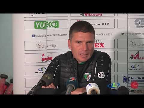 Linglong Tire Super liga 2019/20 - 12.Kolo: Izjave trenera nakon meča SPARTAK ŽK – INĐIJA