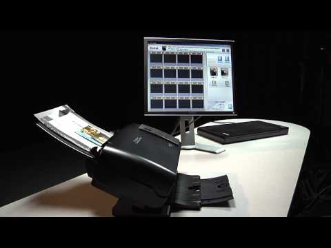 Feeding mixed size photos into the Kodak Picture Saver Scanning System PS50/PS80 Preview