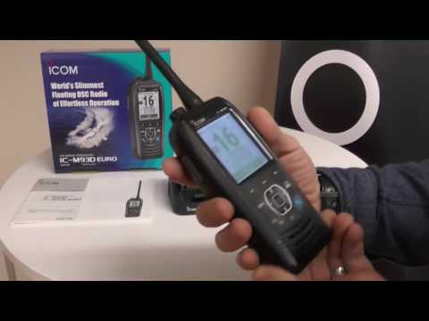 The Icom IC M93D VHF Handheld with DSC