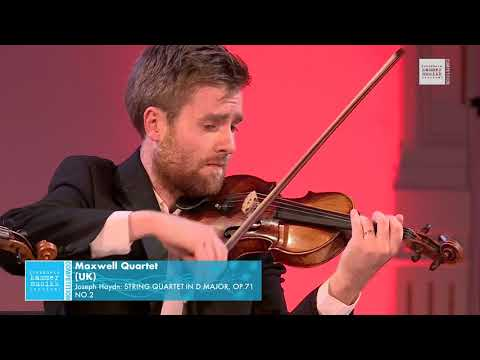 Maxwell Quartet - Joseph Haydn: String Quartet in D major, Op. 71 No. 2
