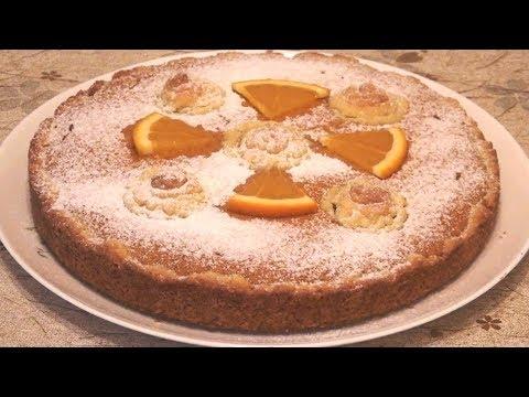 Рассыпчатый, тает во рту! Солнечный пирог с нежным творожно-тыквенным суфле.