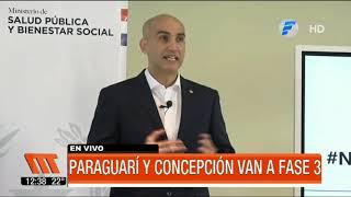 Paraguarí y Concepción avanzan a la fase 3 de la cuarentena inteligente